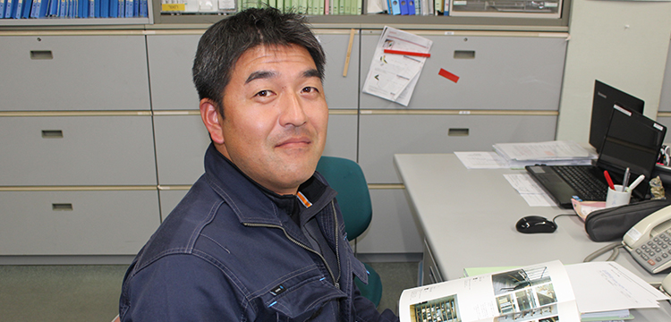 工務部 施工管理職 西 宏太