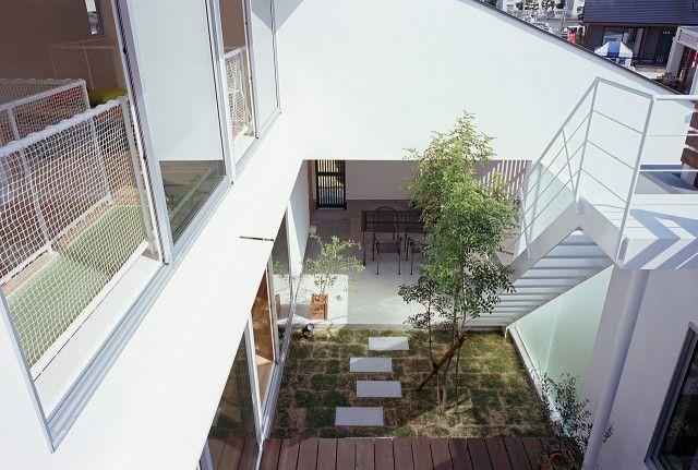 ソラマドの家 中庭のある家 三建 東加古川モデルハウス